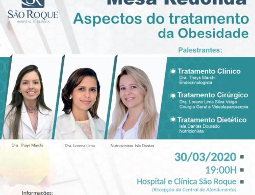 Mesa Redonda – Aspectos do tratamento da Obesidade