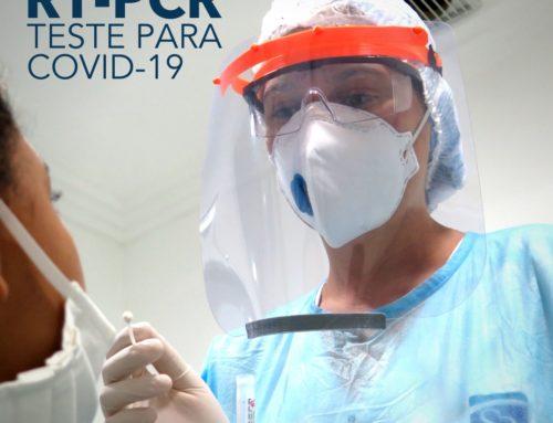 Teste para COVID-19 RT-PCR
